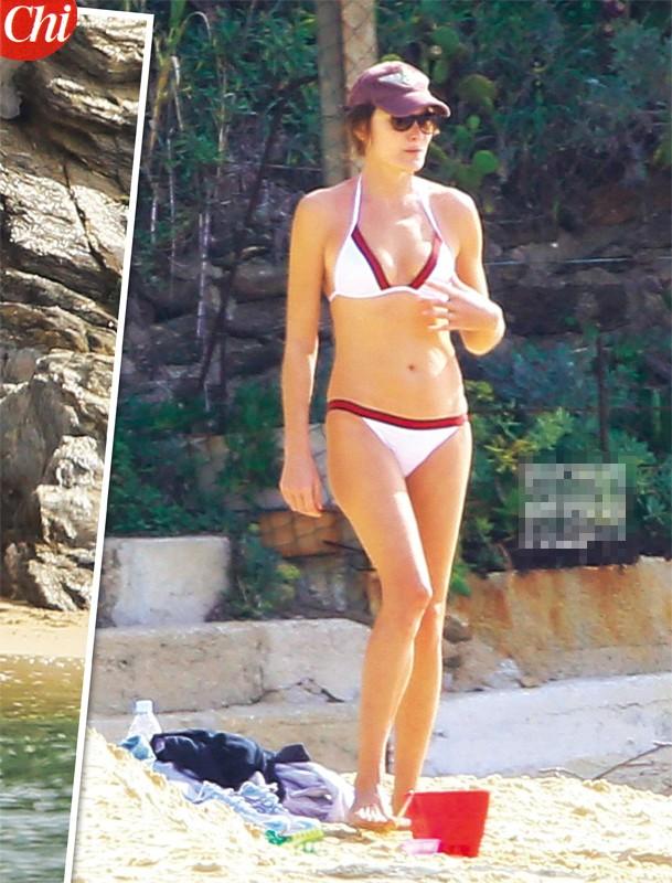Carla Bruni, sexy ex first lady... fuori stagione