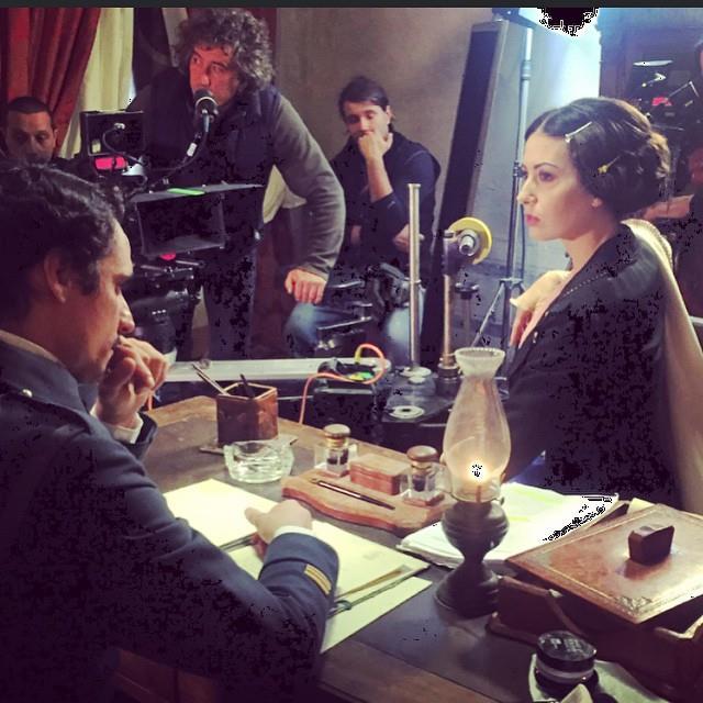 Elisabetta Gregoraci è Mata Hari: debutto al cinema da protagonista per la showgirl