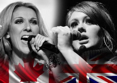 Celine Dion vs Adele