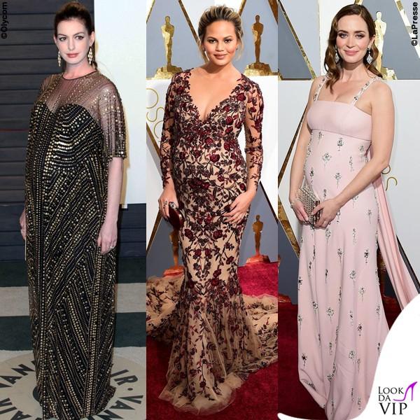 Oscar-2016-Anne-Hathaway-Chrissy-Teigen-Emily-Blunt
