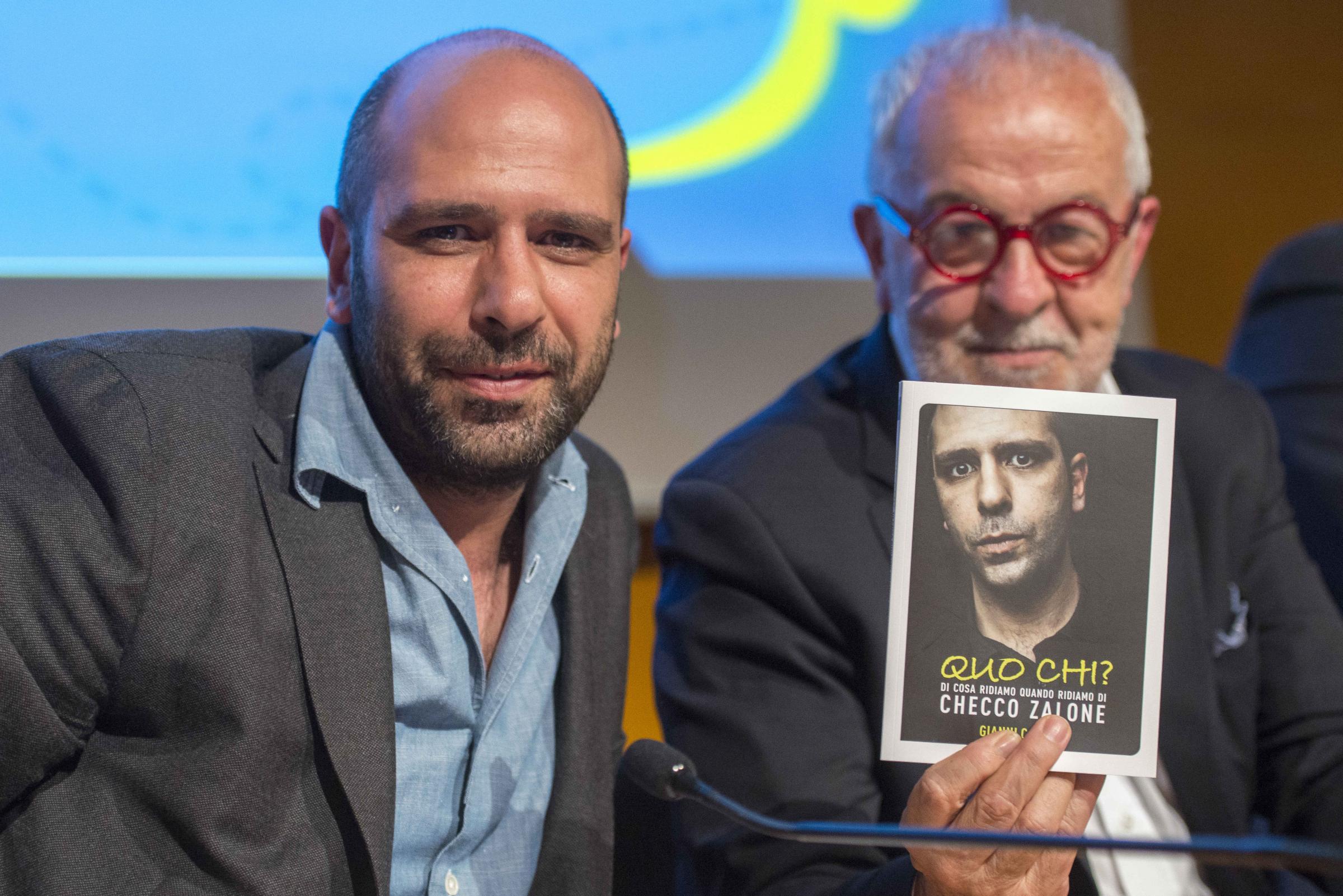 Checco Zalone al Salone Internazionale del Libro di Torino
