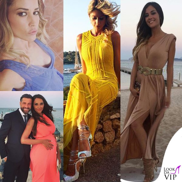 Elena-Santarelli-Maddalena-Corvaglia-Giorgia-Palmas-Juliana-Moreira-matrimonio-Satta