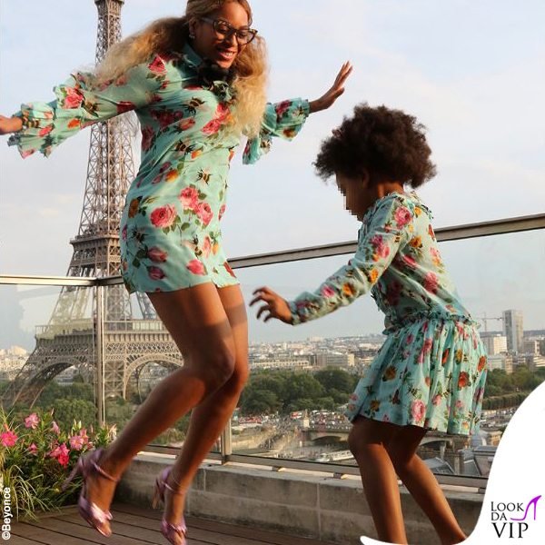 Beyonce-e-Blue-Ivy-outfit-Gucci