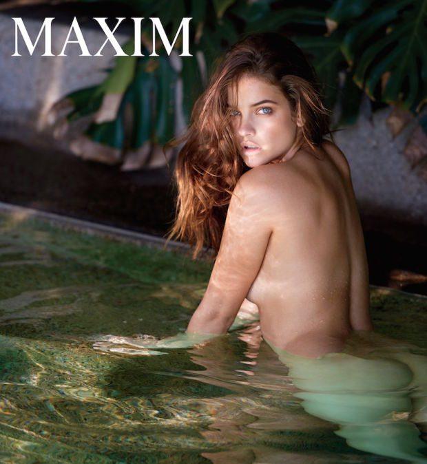 """Barbara Palvin in topless sulla copertina di """"Maxim"""""""
